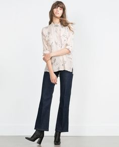 Image 1 of LONG BLOUSE from Zara