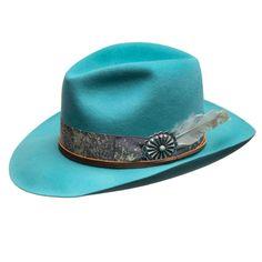 d1c3ba18d6b0b Double D Ranch Django Turquoise Felt Hat