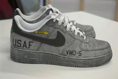 NIKE AIR FORCE 1 LOW (DAVE WHITE CUSTOM)