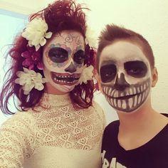 Catrina girlfriend skull Halloween