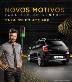 Imagem representativa de banner para campanha Renault