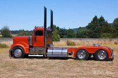 Tricked Out Semi Trucks kenworth Show Trucks, Big Rig Trucks, Dump Trucks, Custom Big Rigs, Custom Trucks, Custom Trailers, Aston Martin, Lamborghini, Benz