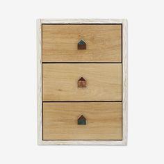 Earthy Colors at DaWanda Door Handles & Knobs – Copper & Oak Door Handles Set, Door Knobs – a unique product by MadeAndPrinted on DaWanda