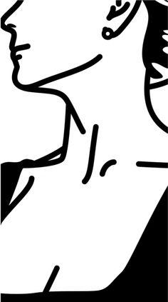 Julian Opie - This is Monique (flocking). 40