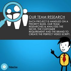 We handle all our projects on a priority basis and thoroughly analyze the niche of our customers. This helps us to deliver perfection in every single project.  #VideoCreation