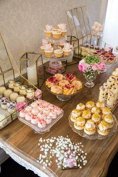 Bridal shower dessert table   gm photographics