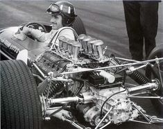 Lotus 49 ─ Graham Hill (1967) Formula One Engines From The Motorsport Retro Facebook