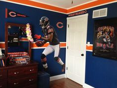 Jack S Room Pinterest Chicago Bears And