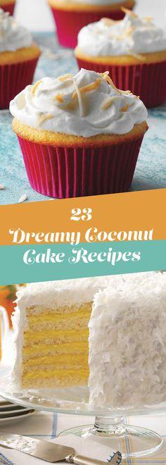 30 Coconut Cake Recipes