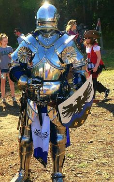 AKknight Medieval Knight, Medieval Armor, Medieval Fantasy, Larp Armor, Knight Armor, Good Knight, Armor Clothing, Armadura Medieval, Early Middle Ages