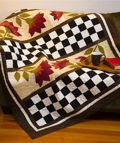 I am really drawn to black and white contrast - Urban Country Quilts by Martingale/That Patchwork Place, via Flickr