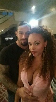 interracial couples Roman Reigns & His Beautiful Wife It show how much Love is, This Isn't about The Whole Racial Things. This is about love This Person with all your heart & Soul, Believe in yourself & your Mates This is what Love is eternal gift. Roman Reigns Wife, Roman Reigns Tattoo, Roman Reigns Family, Interracial Dating Sites, Interracial Couples, Beautiful Wife, Beautiful Couple, Wwe Couples, Wwe Superstar Roman Reigns