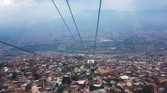 Cable car en Santo Domingo - Medellín