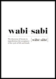 Wabi-sabi Poster