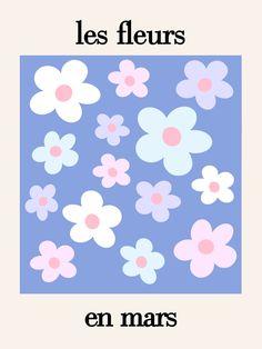 march flowers Art Print