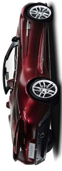 Aston Martin Vanquish Volante by Levon                                                                                                                                                      More