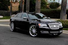 Lexani Custom Luxury Wheels Vehicle Gallery 2012 Chrysler 300c ...