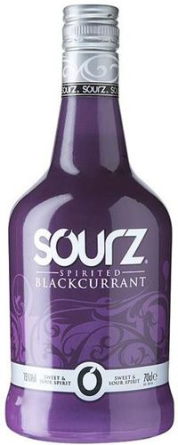 Sourz Spirited Black Currant Sweet and Sour Liqueur