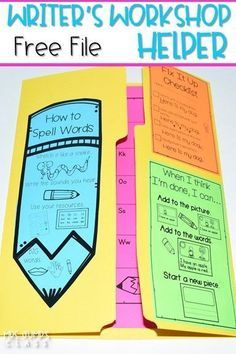 Writers Workshop Helper free file for your kindergarten or first-grade classroom. It includes an editing checklist, personal word wall template, alphabet chart, digraph chart, and blend chart. Student samples of informational writing are also included.