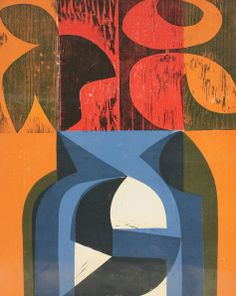 Peter Green (b.1933), 'ROSEBERRY NIGHT 1'; 'MOROCCAN BLUE'; 'SUMMER BEACON' Three screenprints, signed in pencil and dated, artist's proofs Est £200-300 28th January 2014