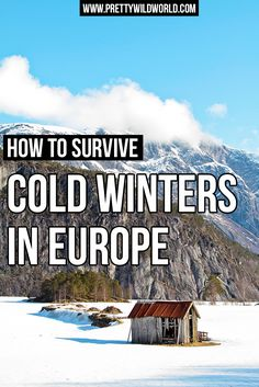 Want to visit Europe in Winter but afraid of the cold? It is all about wearing proper winter clothes and that's about it! Check out this survival 101: Winter in Europe with FREE CHECKLIST INCLUDED!!!