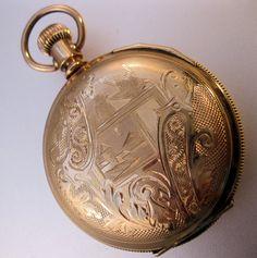 1890 American Waltham Pocket Watch Ladies by BrightEyesTreasures, $225.00