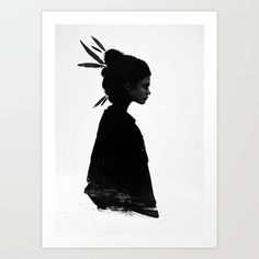 Never Never Art Print by Ruben Ireland  