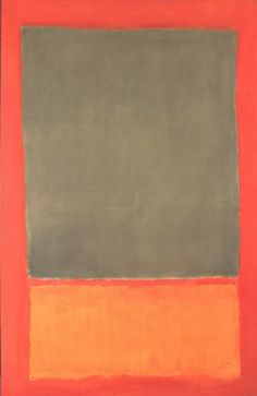/ Mark Rothko / Untitled, 1955 / SFMOMA, San Francisco /
