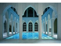 This takes indoor pools (which were already on another level) to another level.