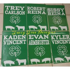 4H banners are one of our most popular items !