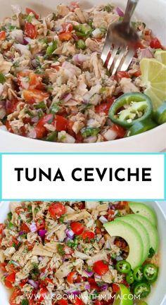 Healthy Tuna Recipes, Tuna Fish Recipes, Canned Tuna Recipes, Healthy Foods To Eat, Cooking Recipes, Tuna Salad Recipes, Vegetarian Salad Recipes, Us Foods, Chicken Recipes