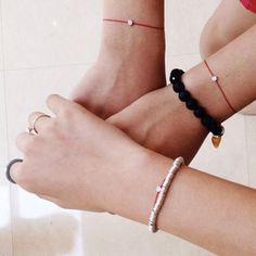 Sister's bracelets!!  #rubinotw #fashionintaipei #redlinediamond #regram from @ting2c