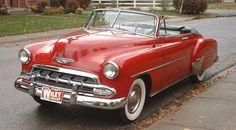 Chevrolet 1952 convertible