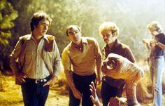 Las imágenes nuca vistas del rodaje de ET El extraterrestre   OLDSKULL