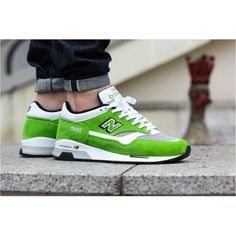 NEW BALANCE PISTACHIO GREEN 1500 MADE IN UK M1500SG
