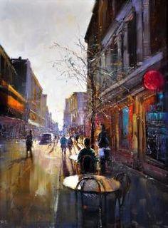 Kerbside Dining, Rundle Street, Adelaide - Herman Pekel