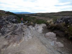 We took this picture on our trip to the earlier in the year. We think this picture showcases the barren nature of this volcanic environment. Us Travel, New Zealand, Exploring, The Good Place, National Parks, Landscapes, Environment, Hiking, Outdoors