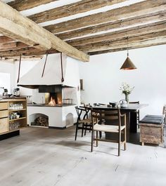 A Cozy Copenhagen Home With a Kitchen We Want to Cook In via @MyDomaine