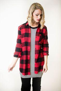 Boys Long Sleeve Plaid Fleece Button-Down Shirt | Boy clothing ...