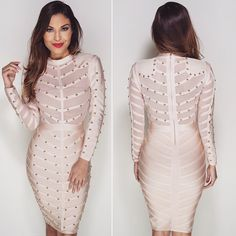 """Our """"Queen"""" bandage dress is just perfection"""