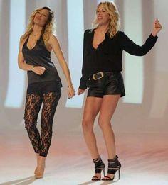 Alessia Marcuzzi E Ilary Blasi In Super Sexy Trasparenze A Le Iene