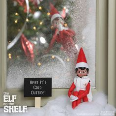 Baby It's Cold Outside! | Elf on the Shelf Ideas