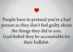 True. I know who these people are. Sad.