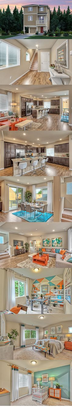 Beautiful modern design meets comfortable living in the Winchester at Arbor Mist! This home offers 4 bedrooms and 3 bathrooms in 2,012 square feet.
