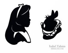 Alice in wonderland Cameo silhouette - Bing Images