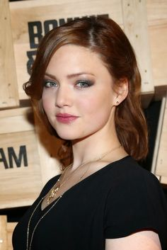 Holliday Grainger who played Anastasia in the newest Cinderella movie.