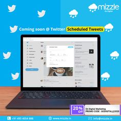 Twitter app is experimenting with tweet scheduling. This new option is to schedule Tweets within the tweet composer window in-app. This is a feature we all have been waiting for so long. Hope it will be available soon  #tweetschedule #tweet #twitter #tweets #twitterupdates #socialmedianews #digitalmarketing #socialmediamarketing #seo #branding #onlinemarketing  #contentmarketing #webdesign #advertising #marketingstrategy #graphicdesign #digitalmarketingagency #website #marketingagency… Content Marketing, Internet Marketing, Online Marketing, Digital Marketing, Twitter App, Twitter Tweets, Mobile Application Development, Design Development