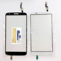 ESUWO 5.2 Inch Phone Touchscreen Digitizer For LG G2 D802 Touch Screen Sensor Panel Black White Color +Tools