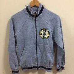 Vintage N Swoosh X Mickey Sportswear Running Top Jacket Full Zip Blue Tag M  | eBay