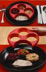 This would be awesome to have!!! Meal Portion Control, What a cool idea Measure your meal! paleo diet portions
